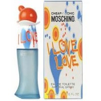 MOSCHINO I LOVE LOVE MUJER EDT 100 ml. (TESTER)