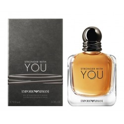 ARMANI STRONGER WITH YOU HOMBRE EDT 100 ml. (TESTER)