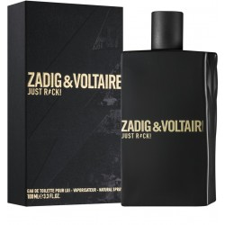 ZADIG & VOLTAIRE JUST ROCK! FOR HIM HOMBRE EDT 100 ml. (TESTER)