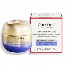 SHISEIDO VITAL PERFECTION UPLIFTING AND FIRMING CREAM ENRICHED 50 ml.