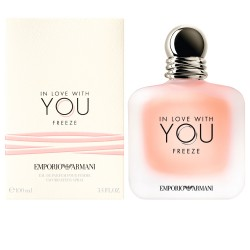 ARMANI IN LOVE WITH YOU FREEZE MUJER EDP 100 ml. (TESTER)